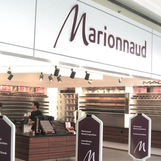 Marionnaud Branding - Singapore