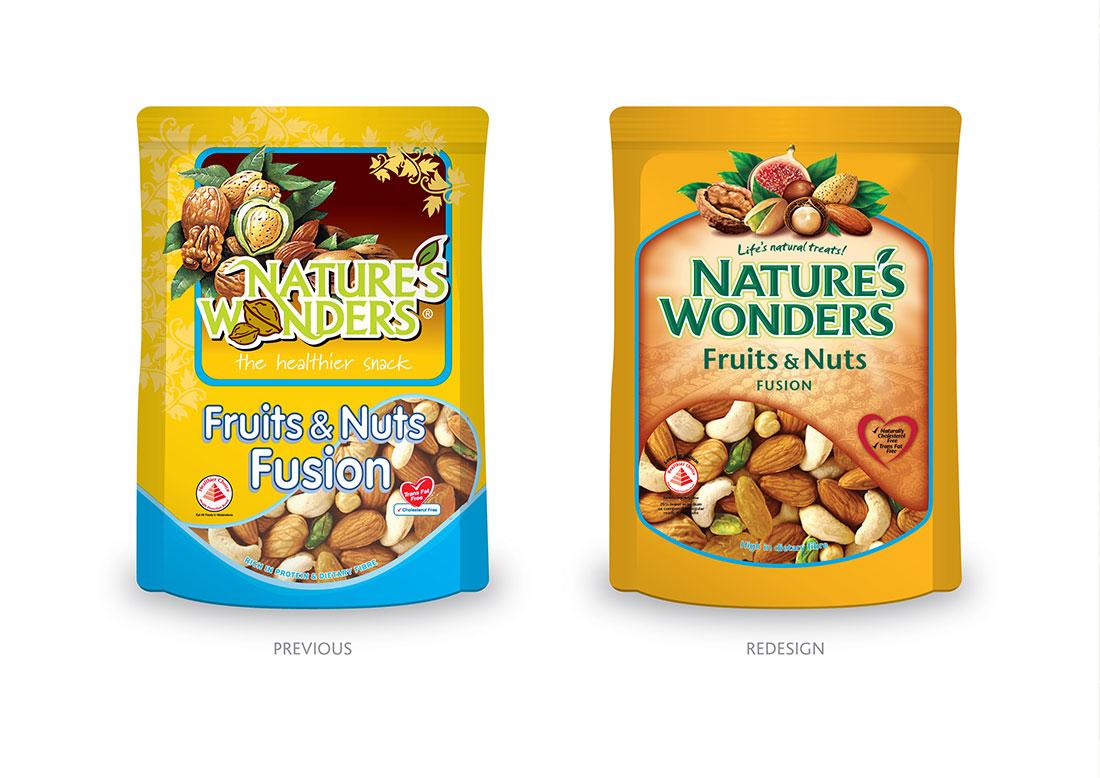 Nature's Wonders Packaging - Singapore
