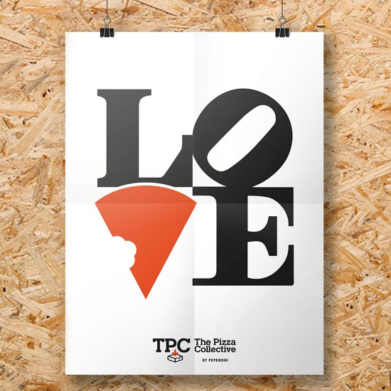 TPC - The Pizza Collective Branding - Singapore