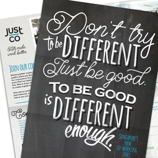 JustCo Branding - Singapore