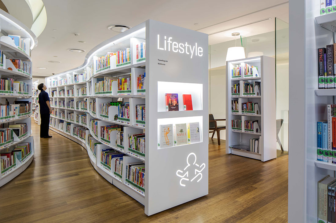 Library Orchard Branding - Singapore