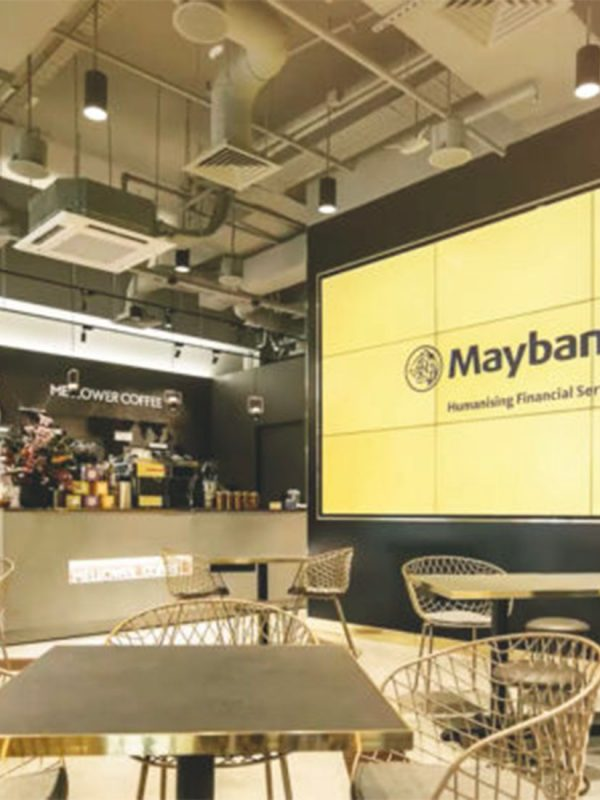 Maybank SG unveils cafe style concept branch